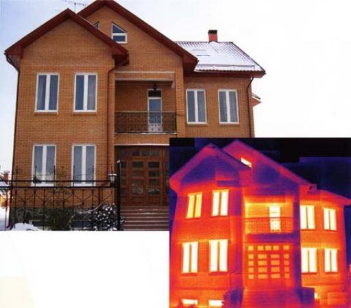 teplovizor Теперь мы можем произвести тепловизионное обследование вашего дома
