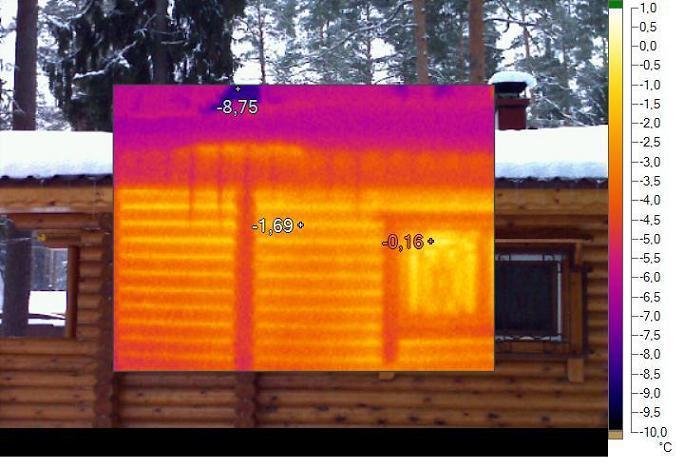 teplovizor2 Теперь мы можем произвести тепловизионное обследование вашего дома